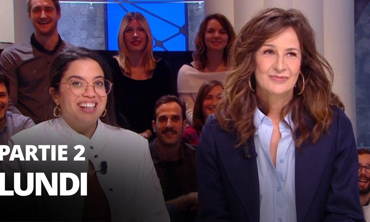 Quotidien, deuxième partie du 9 mars 2020 avec Melha Bedia, Valérie Lemercier et Christopher Wylie