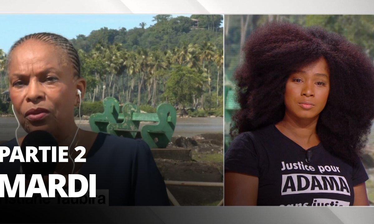 Quotidien, deuxième partie du 9 juin 2020 avec Christiane Taubira et Assa Traoré
