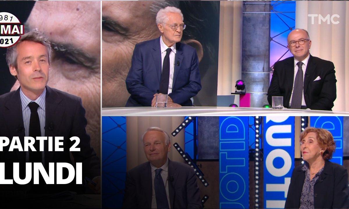 Quotidien, deuxième partie du 10 mai 2021 avec Lionel Jospin, Jean-Marc Ayrault, Edith Cresson et Bernard Cazeneuve