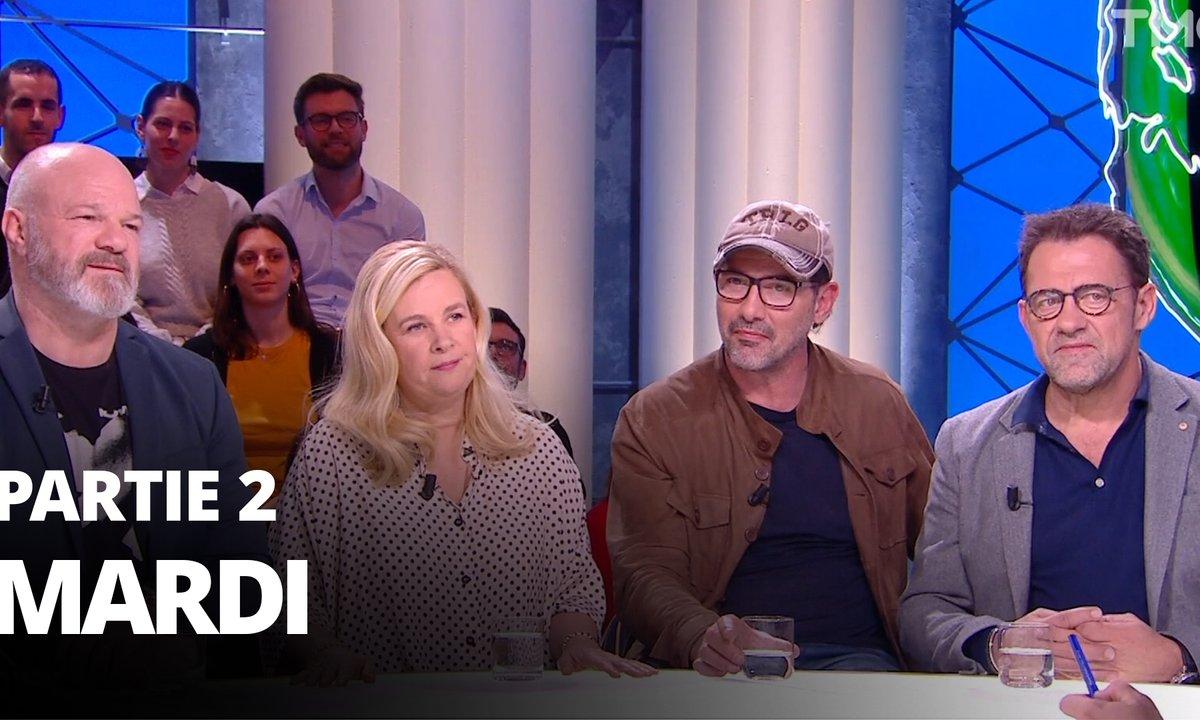 Quotidien, deuxième partie du 11 février 2020 avec Hélène Darroze, Philippe Etchebest, Michel Sarran, Paul Pairet et Stéphane Israël