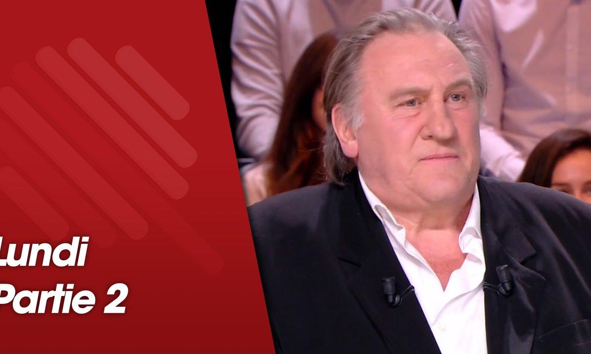 Quotidien, deuxième partie du 11 mars 2019 avec Gérard Depardieu