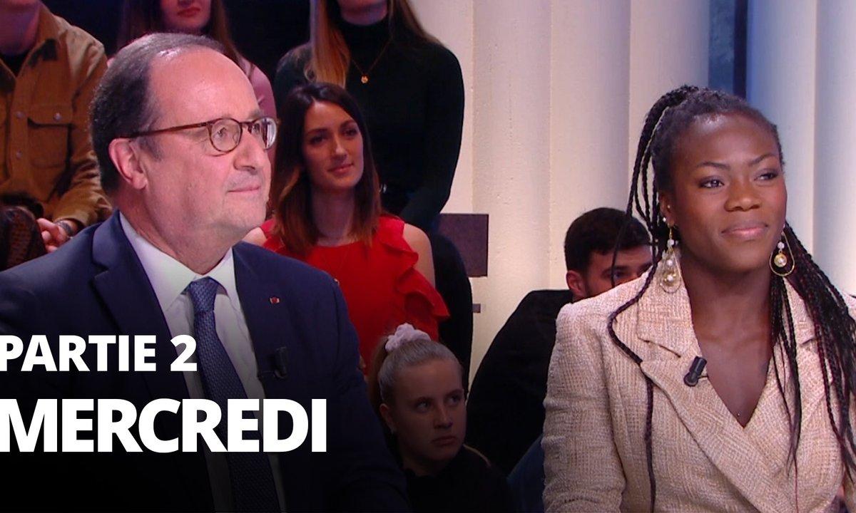 Quotidien, deuxième partie du 12 février 2020 avec François Hollande et Clarisse Agbegnenou