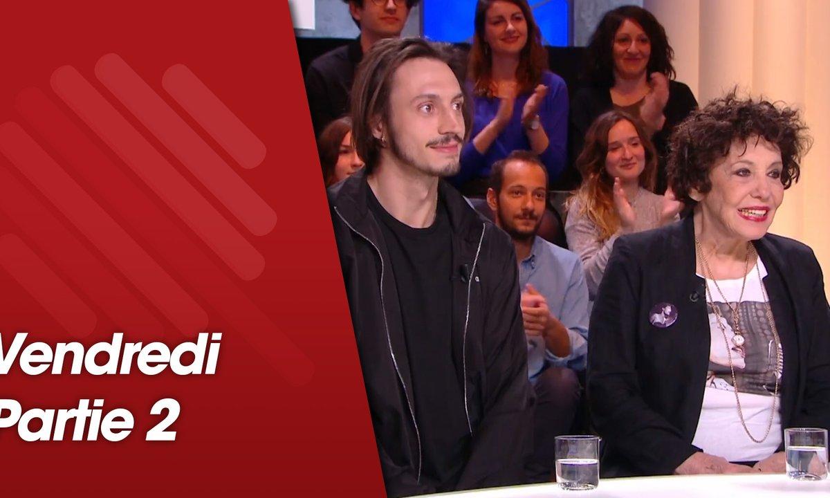 Quotidien, deuxième partie du 12 avril 2019 avec Roméo Elvis, Liliane Rovere, Julien Duboué et Juan Arbelaez