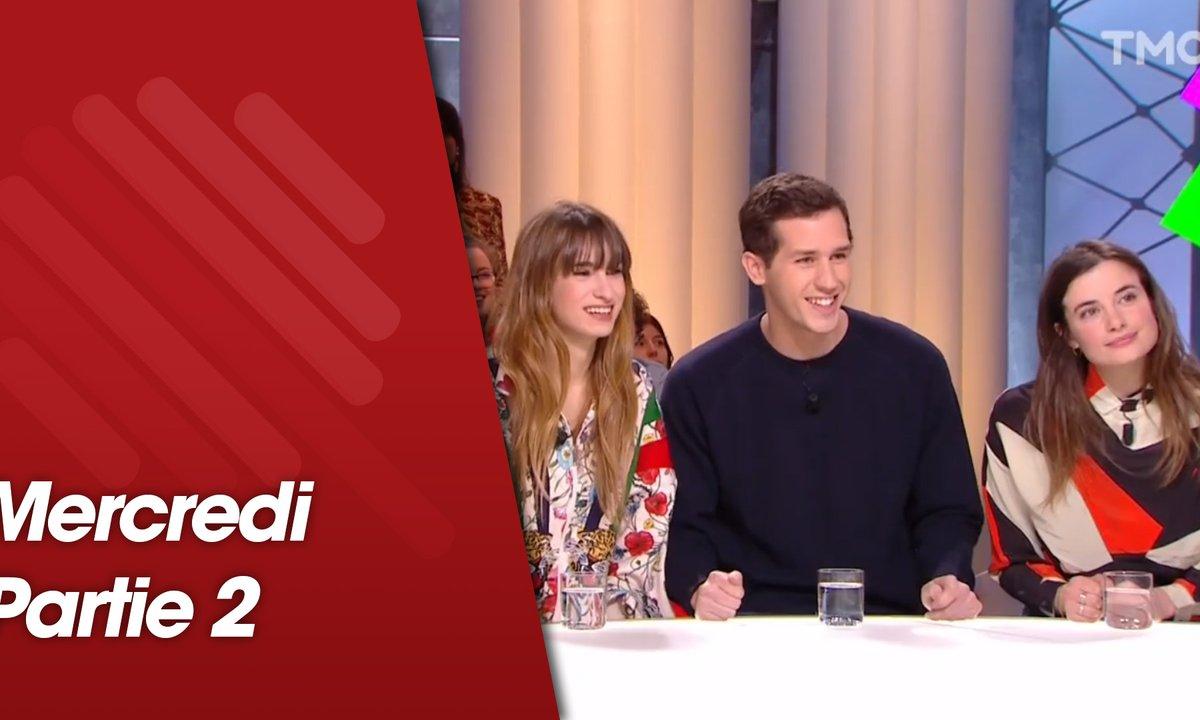 """Quotidien, deuxième partie du 13 mars 2019 avec le casting du film """"Mon bébé"""" et des jeunes Algériens vivant en France"""