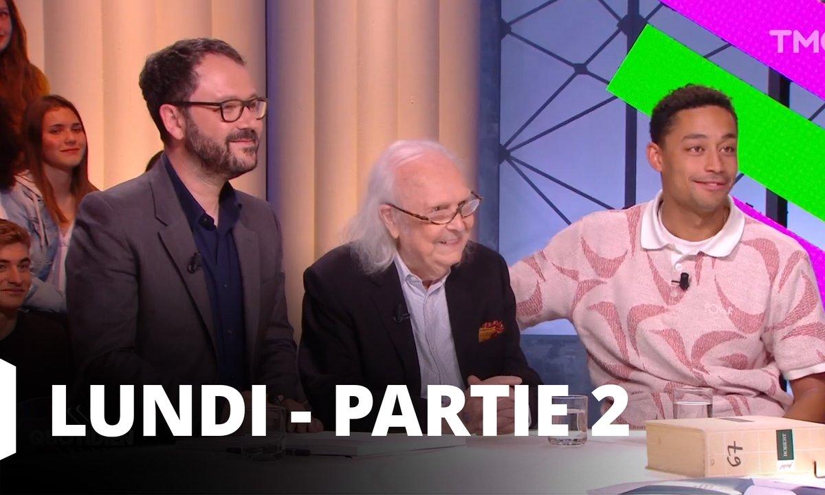 Quotidien, deuxième partie du 13 mai 2019 avec Alain Rey, Riad Sattouf et Loyle Corner