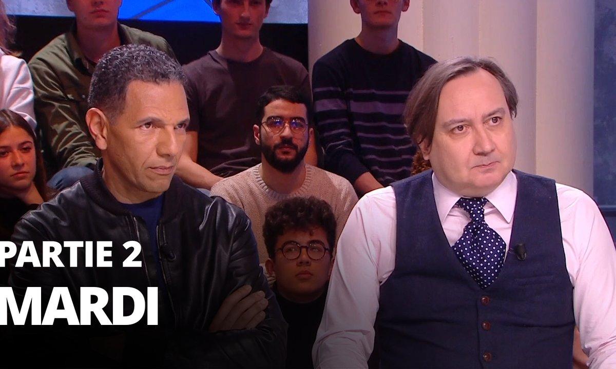 Quotidien, deuxième partie du 14 janvier 2020 avec Roschdy Zem, Michel Fau et Laurent Karila