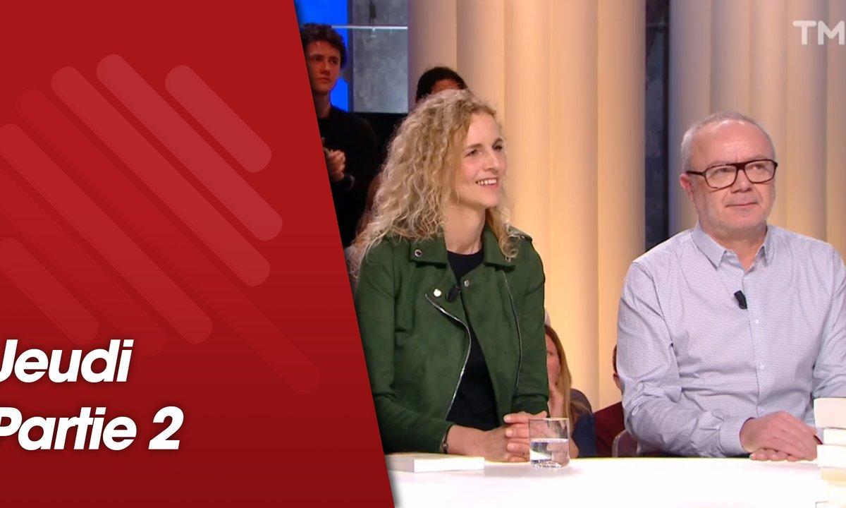 Quotidien, deuxième partie du 14 mars 2019 avec Delphine de Vigan et Olivier Baroux