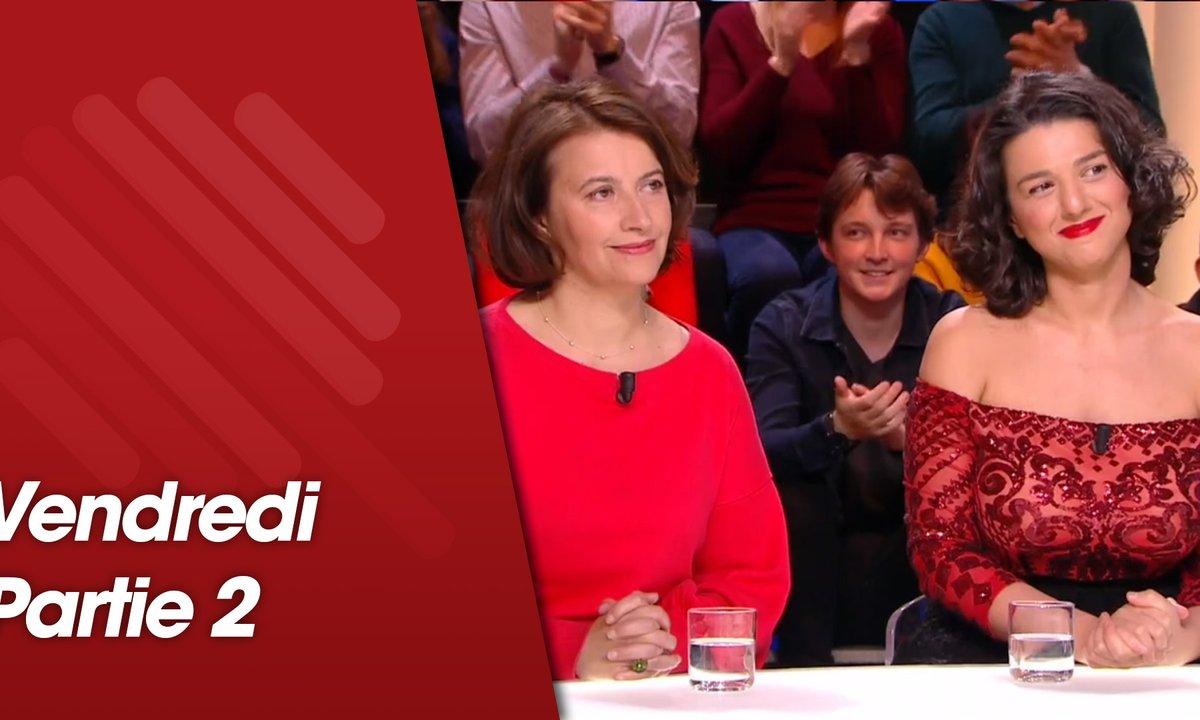 Quotidien, deuxième partie du 15 mars 2019 avec Cécile Duflot et Khatia Buniatishvili