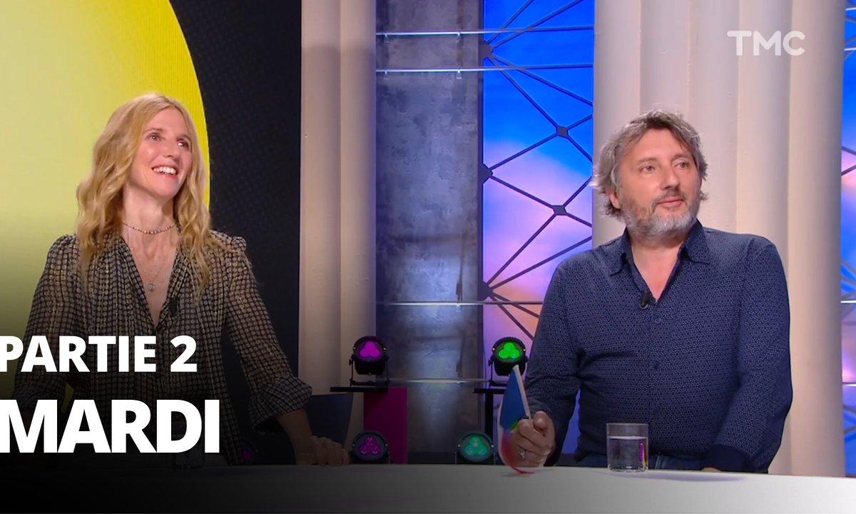 Quotidien, deuxième partie du 15 juin 2021 avec Sandrine Kiberlain, Bruno Podalydès et Nathalie Iannetta
