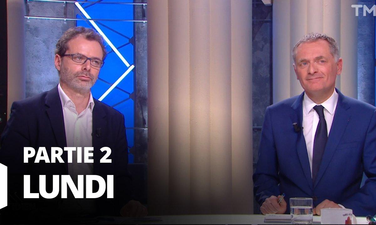 Quotidien, deuxième partie du 16 mars 2020 avec les docteurs Philippe Juvin et Rémi Salomon