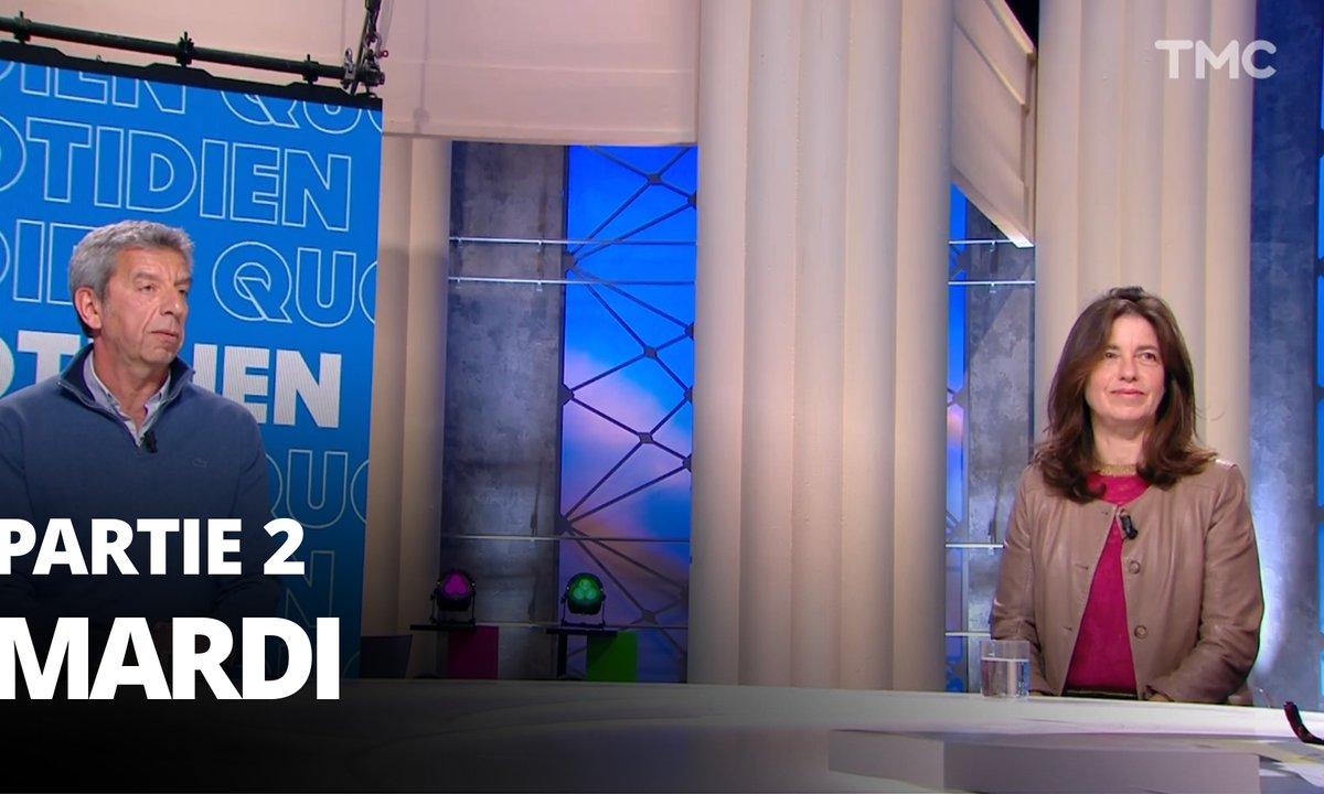Quotidien, deuxième partie du 16 mars 2021 avec Michel Cymès et Claudia Senik