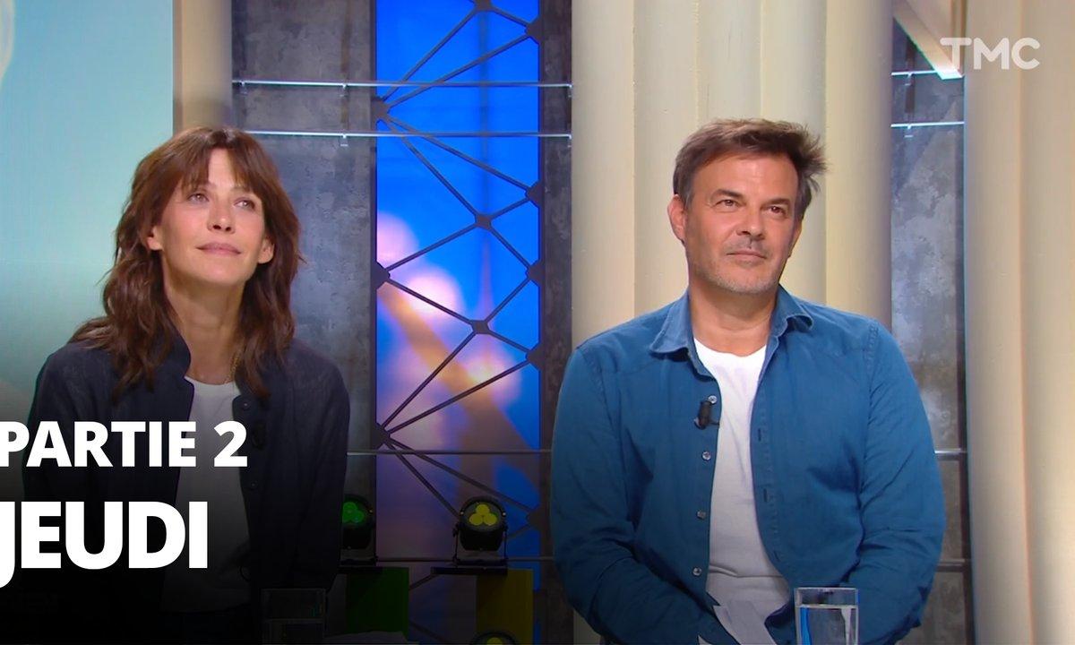 Quotidien, deuxième partie du 16 septembre 2021 avec Sophie Marceau et François Ozon