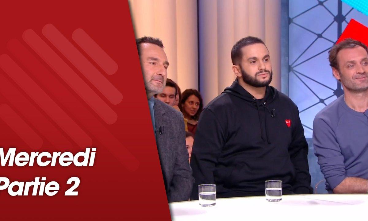 Quotidien, deuxième partie du 20 février 2019 avec Malik Bentalha, Gilles Lellouche et Augustin Trapenard