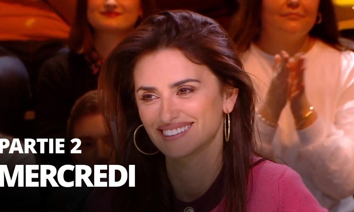 Quotidien, deuxième partie du 22 janvier 2020 avec Penelope Cruz et Julie Chapon