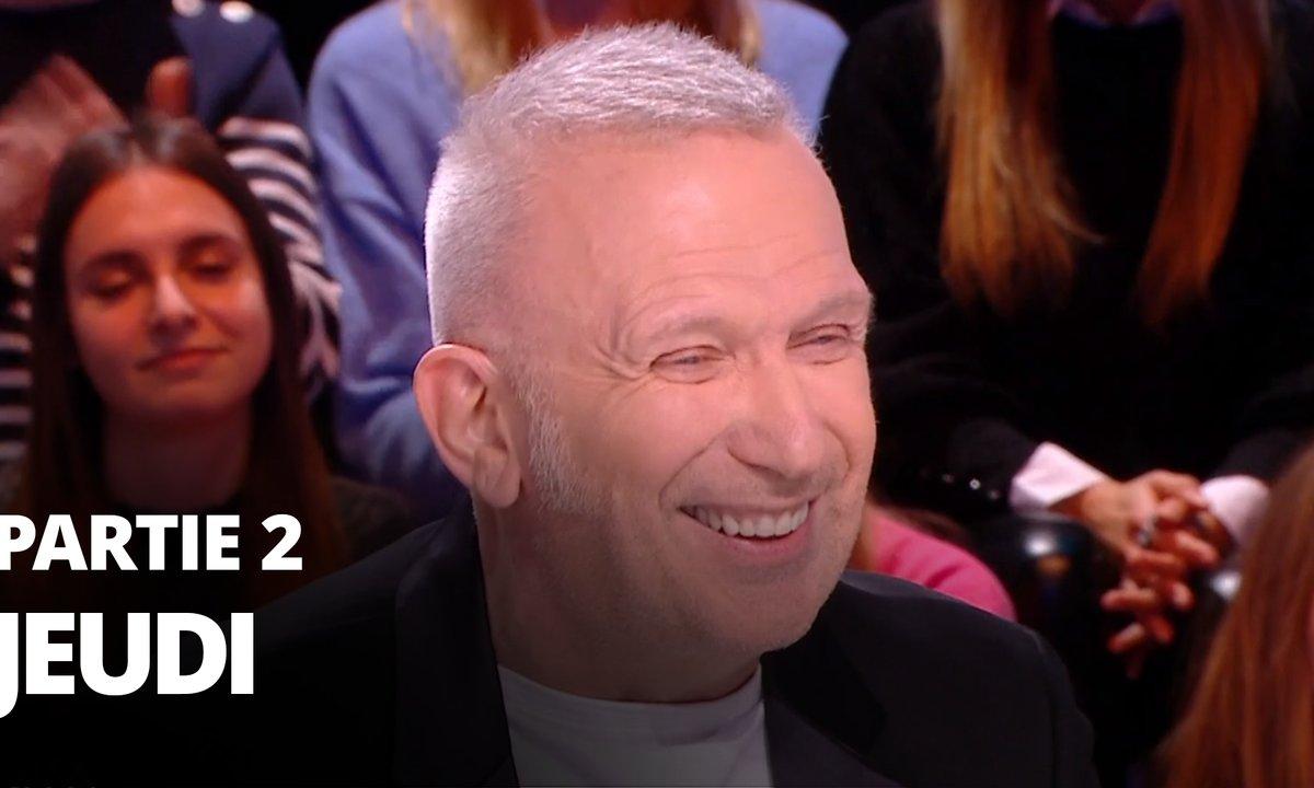 Quotidien, deuxième partie du 23 janvier 2020 avec Iannis Roder et Jean-Paul Gaultier
