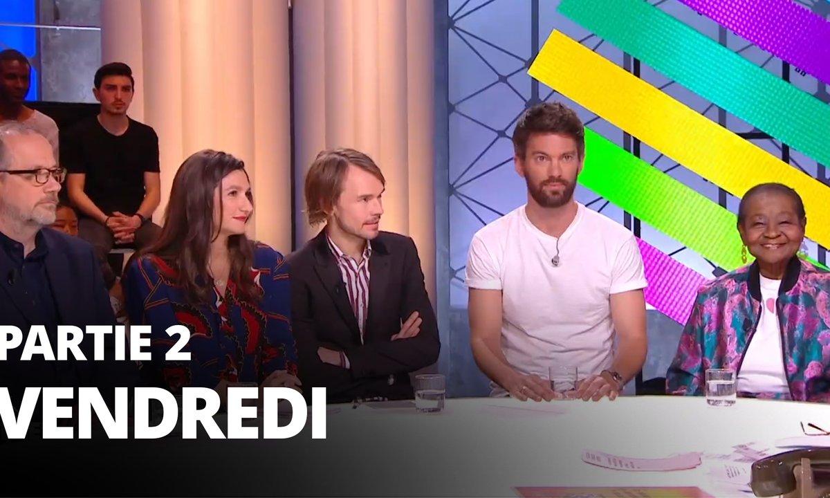 Quotidien, deuxième partie du 24 mai 2019 avec Anne Rosencher, Thomas Legrand, Ludovic Vigogne, Jean Robert-Charrier et Calypso Rose