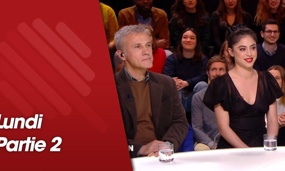 Quotidien, deuxième partie du 28 janvier 2019 avec Rosa Salazar, Christoph Waltz, Robert Rodriguez, Clara Luciani, Juliette Armanet et Raphaël Glucksmann