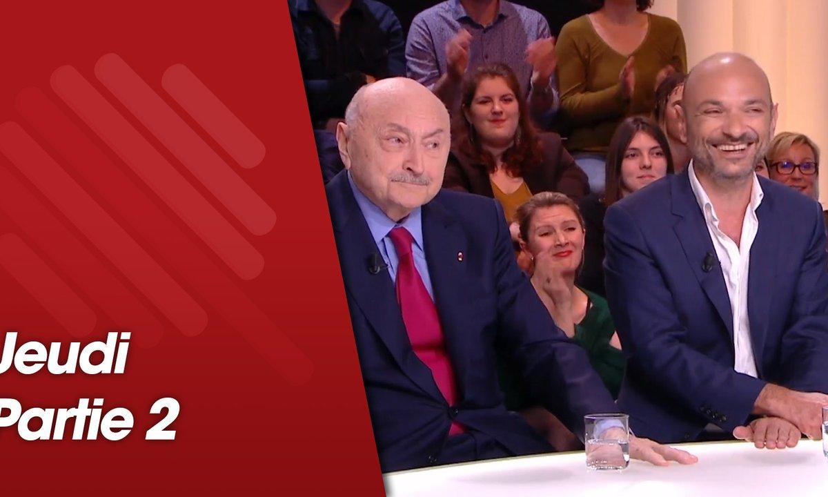 Quotidien, deuxième partie du 28 mars 2019 avec Georges Kiejman, Richard Malka, François Civil et Joséphine Japy