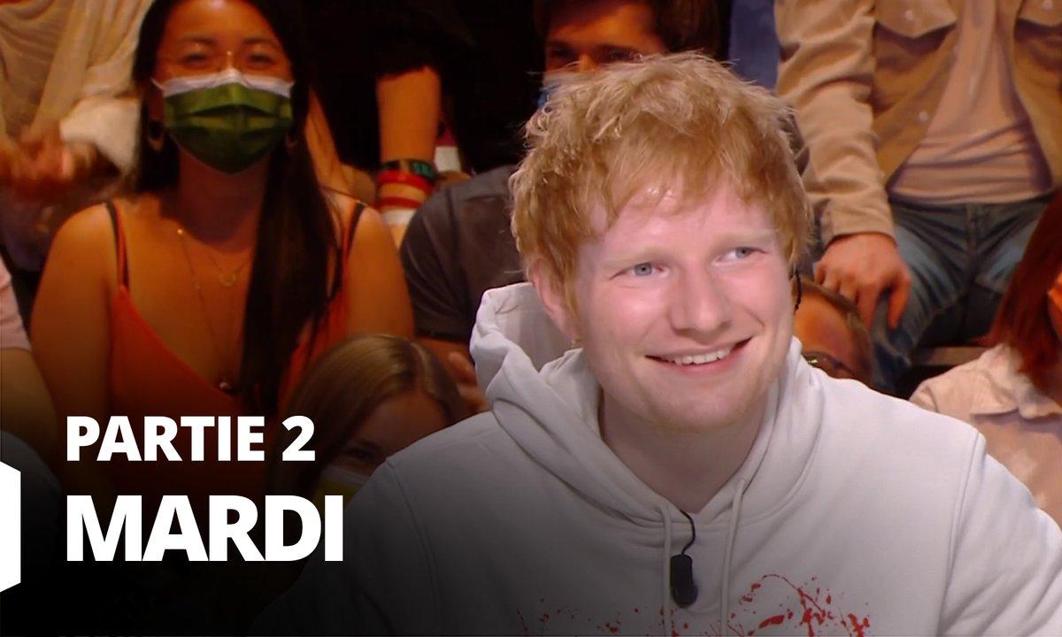 Quotidien, deuxième partie du 28 septembre 2021 avec Ed Sheeran