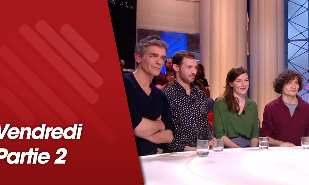Quotidien, deuxième partie du 29 mars 2019 avec Xavier de Moulins, Papooz, Louise Chevillotte, Quentin Dolmaire et Tom Mercier