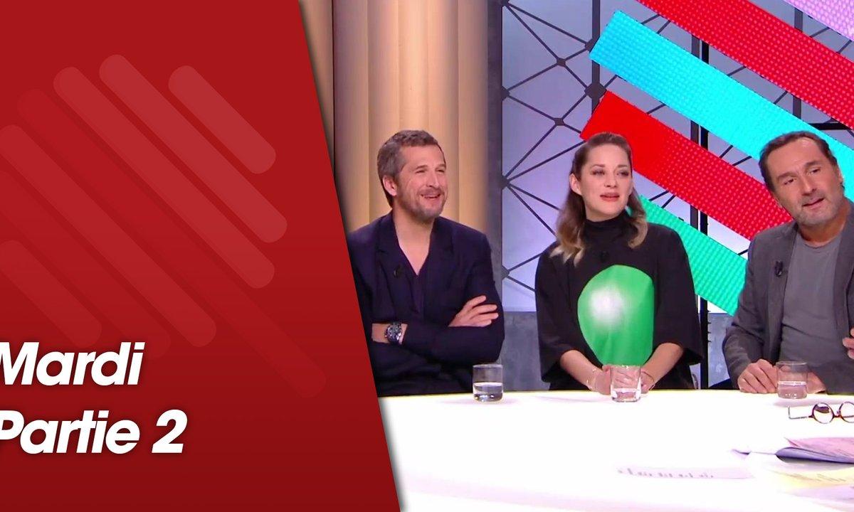 Quotidien, deuxième partie du 30 avril 2019 avec Marion Cotillard, Gilles Lellouche, Guillaume Canet et François Cluzet