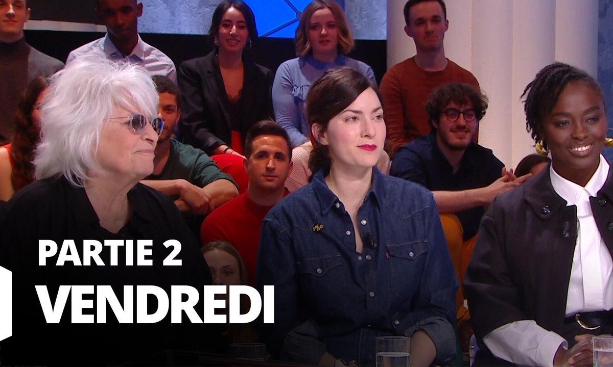 Quotidien, deuxième partie du 31 janvier 2020 avec Rebecca Zlotowski, Aïssa Maïga, Harold Valentin et Catherine Lara