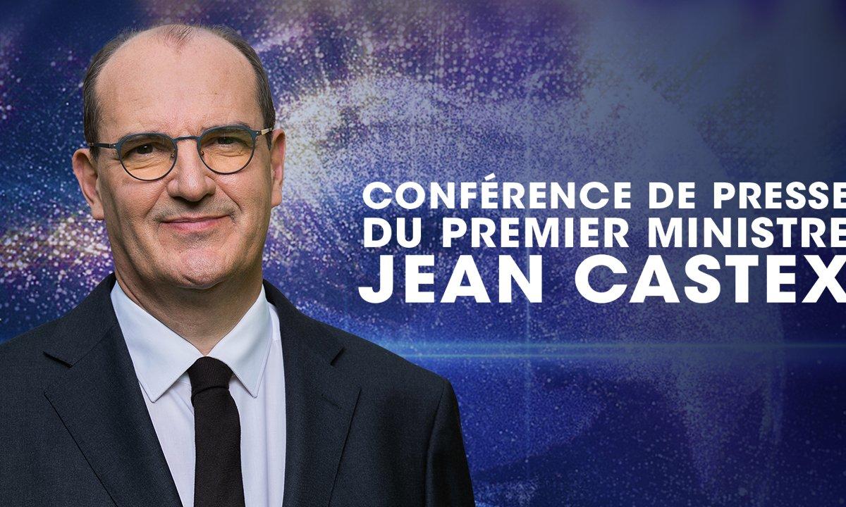 Conférence de presse du premier ministre jean castex en streaming