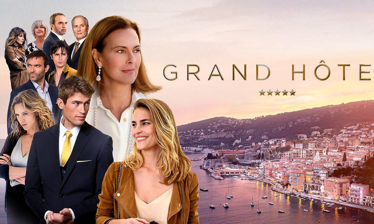 AVANT PREMIERE - Grand Hôtel : le premier épisode disponible grâce à MYTF1  Premium - Grand Hôtel   TF1