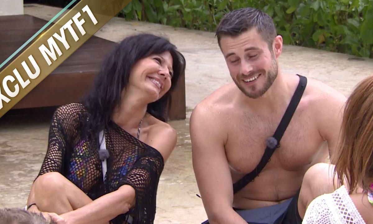 Nathalie réserve une surprise très sexy pour Romain