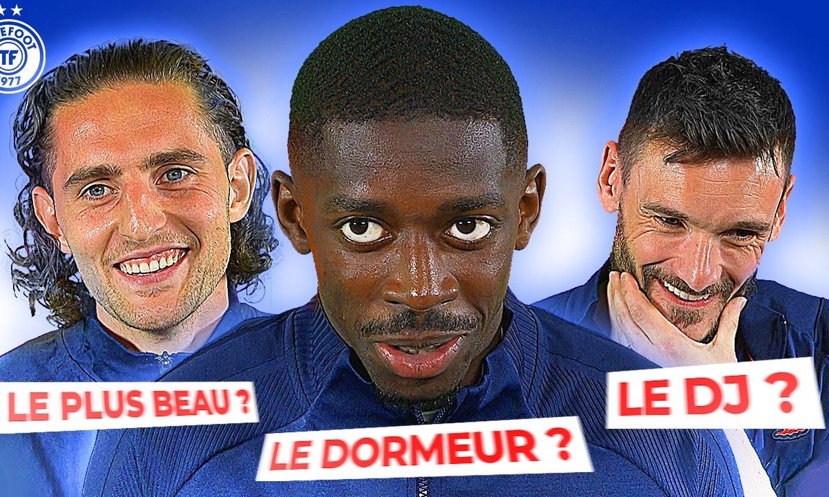 Dembélé, Rabiot, Lloris dévoilent les secrets des Bleus !