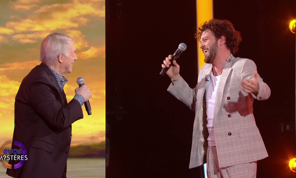 "Duos Mystères - Claudio Capéo et Salvatore Adamo chantent ""L'italien"""