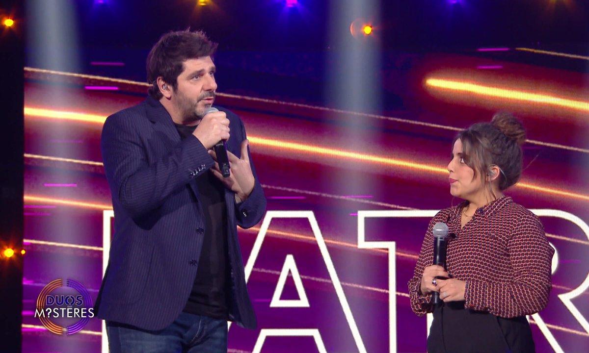 """Duos Mystères - Ines Reg et Patrick Fiori chantent """"J'en rêve encore"""""""