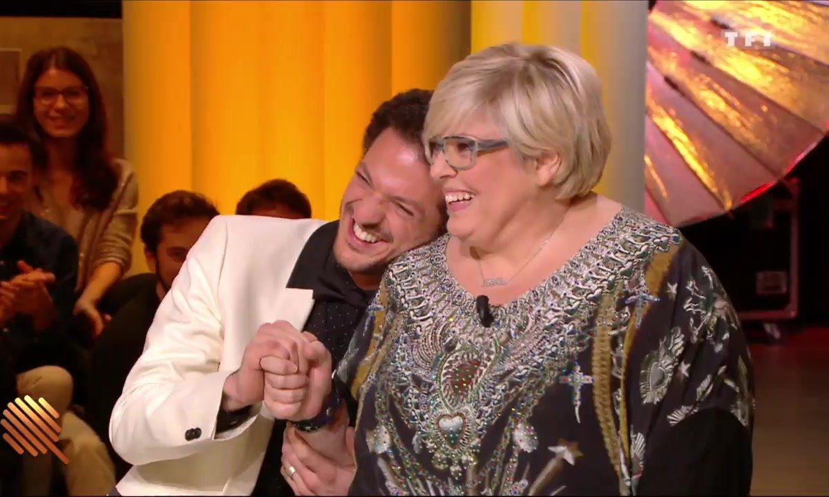 Vincent Dedienne et Laurence Boccolini, le couple de 2017 ?