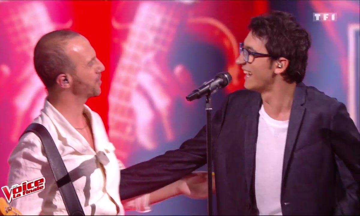 Vincent Vinel et Calogero - « Je joue de la musique » (La finale en direct – Saison 6)