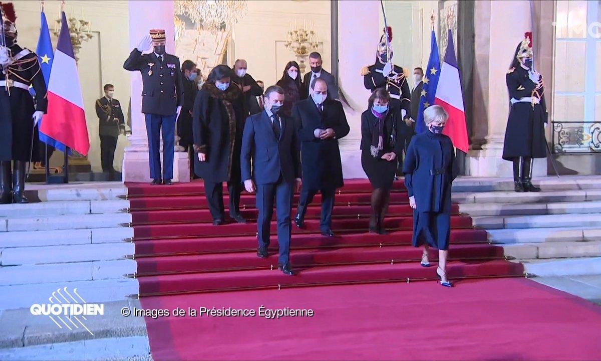 Visite du président égyptien: ces images que la France s'est bien gardée de partager