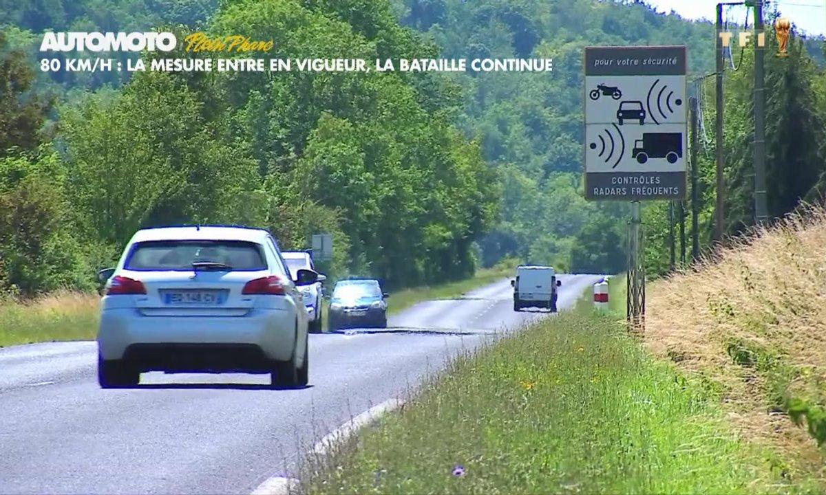 Plein Phare : 80 km/h, la mesure entre en vigueur, la bataille continue