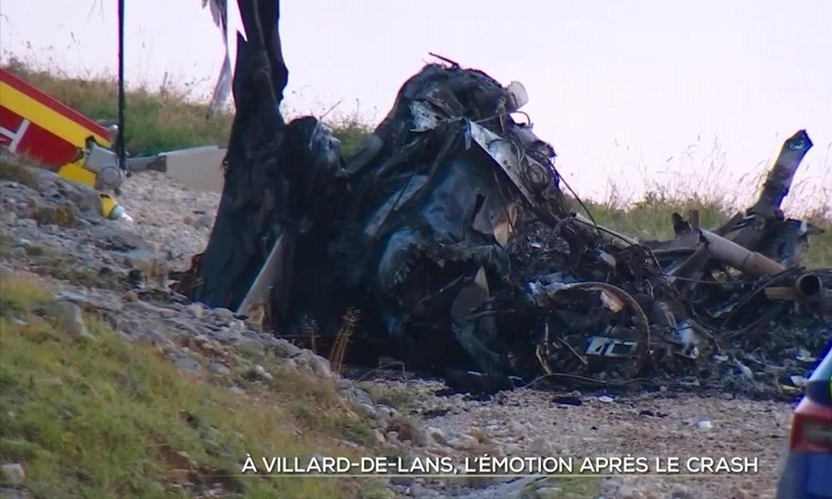 Vive émotion à Villard-de-Lans après le crash d'un hélicoptère de la Sécurité civile