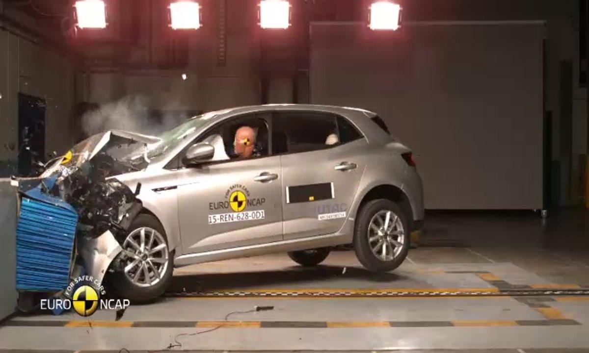 La Renault Mégane 2016 au crash-test EuroNCAP