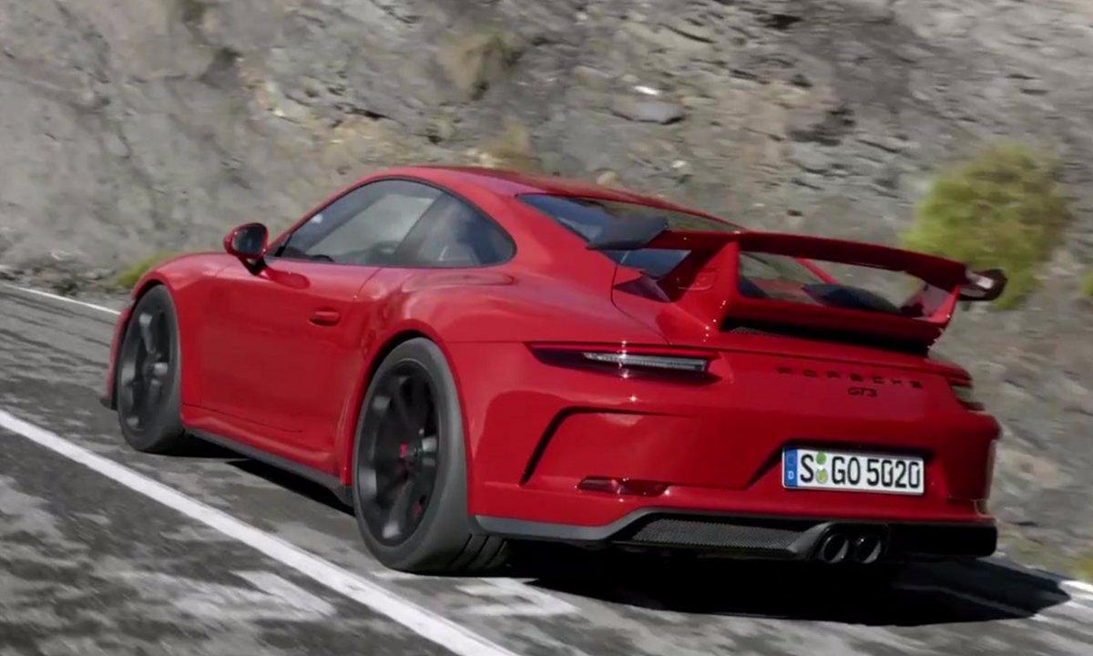Porsche 911 GT3 2017 : Présentation officielle