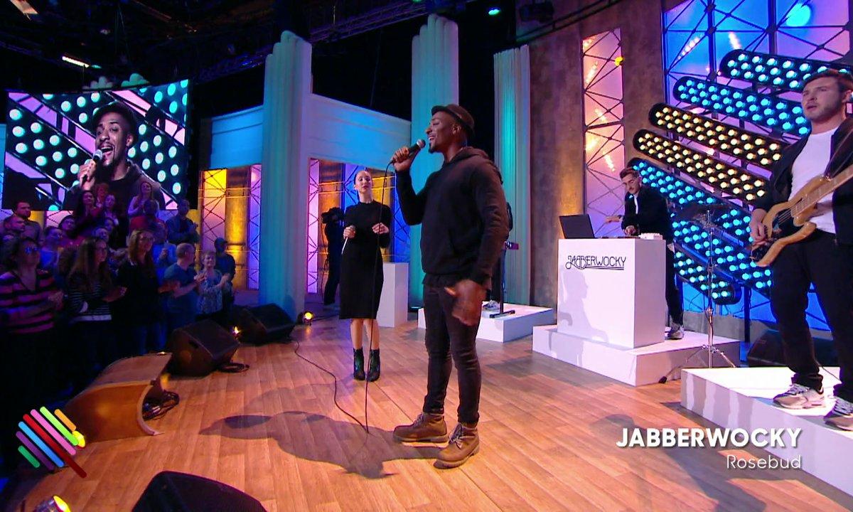 "Jabberwocky - ""Rosebud"" en live sur la scène de Quotidien (exclu web)"