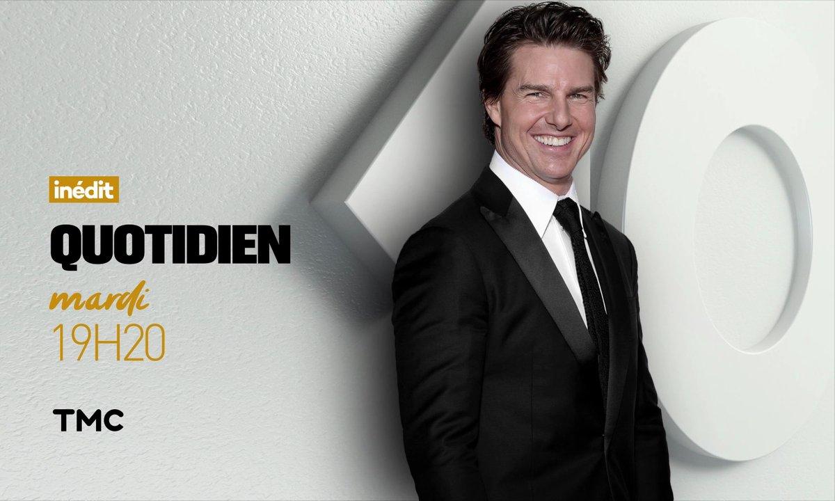Tom Cruise, ce soir dans Quotidien !