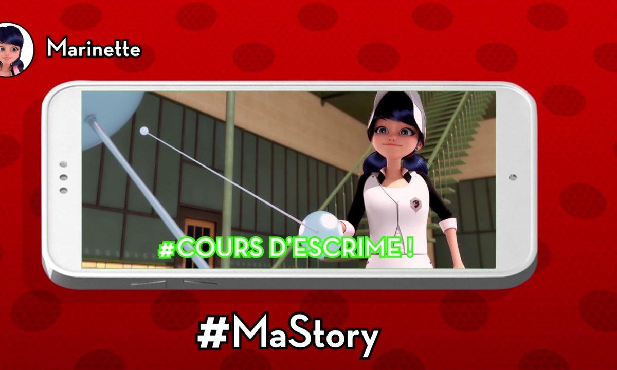 Les stories de Miraculous - #Coursd'escrime