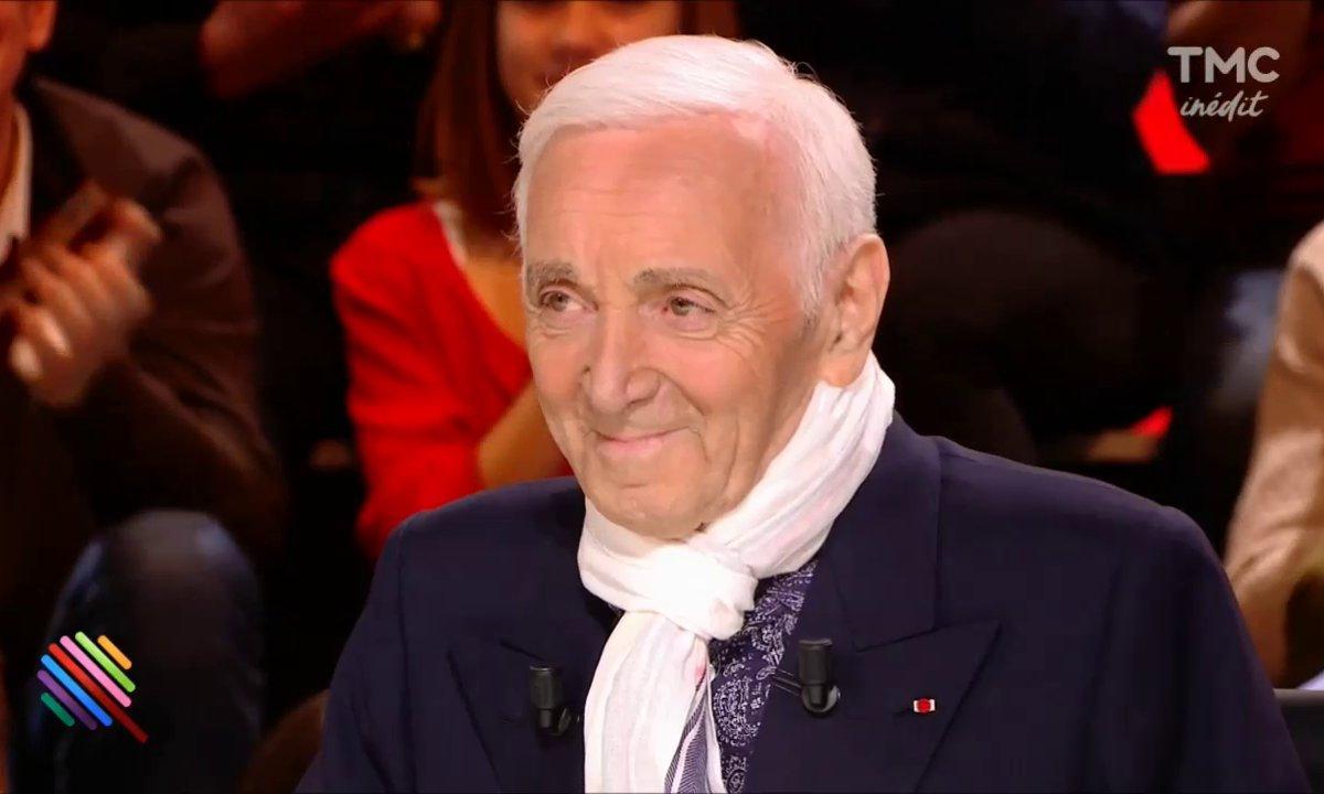 Il n'y avait que Charles Aznavour pour si bien parler d'amour et de jeunesse