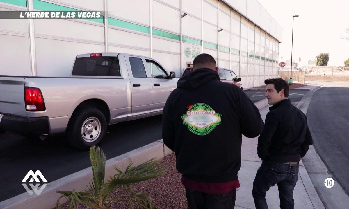 À Las Vegas, vous pouvez commander votre weed directement au drive