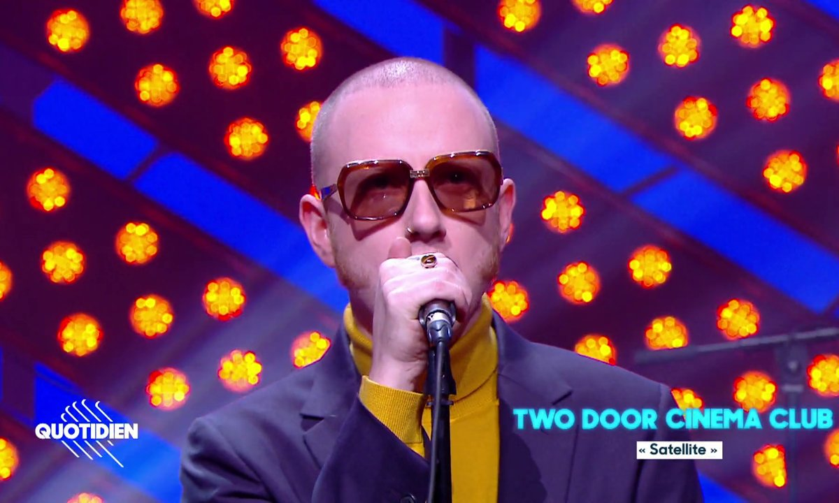 """Two Door Cinema Club : """"Satellite"""" en live pour Quotidien"""