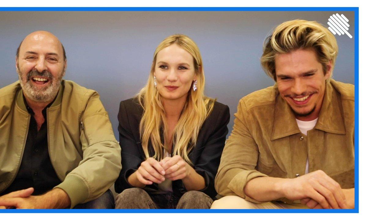 Qoulisses avec François Civil, Ana Girardot et Cédric Klapisch : l'interview Galère