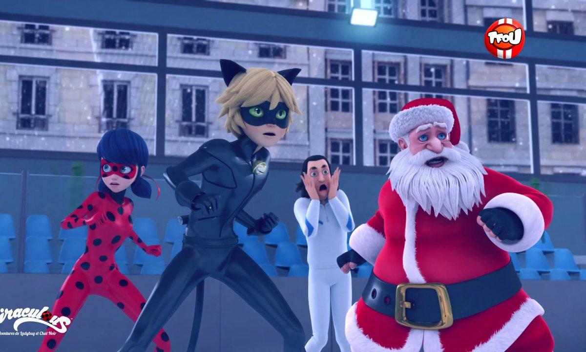 Miraculous - Les aventures de Ladybug et Chat Noir - Maitre Noël - extrait
