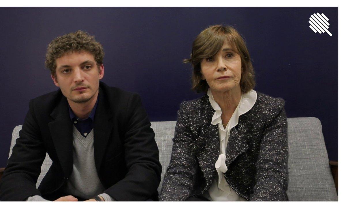 """Qoulisses : l'interview Contexte de Martine Laroche-Joubert et Niels Schneider pour """"Sympathie pour le diable"""""""