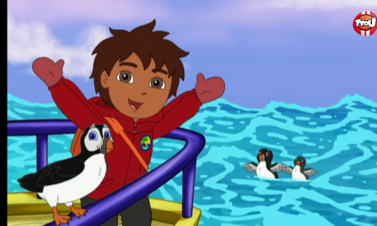 Go Diego ! - Du poisson pour les macareux - Extrait