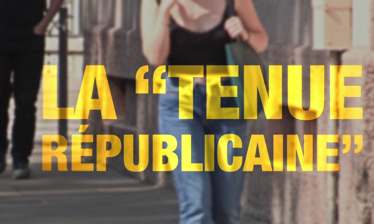 """Quotidien ++ : la """"tenue républicaine"""", à quoi ça rime ? (Exclu web)"""
